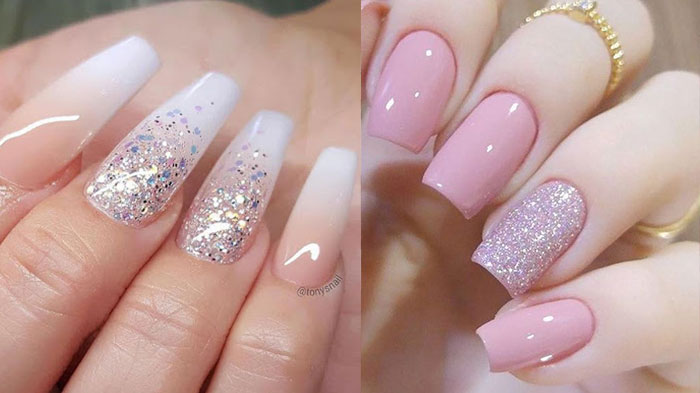 cute wedding Nail Art Design