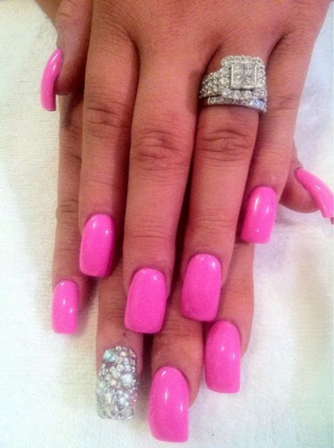 Pink Nails Are Wow So Cute