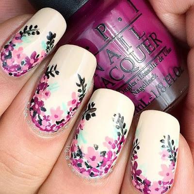 Spring Nail Art Design