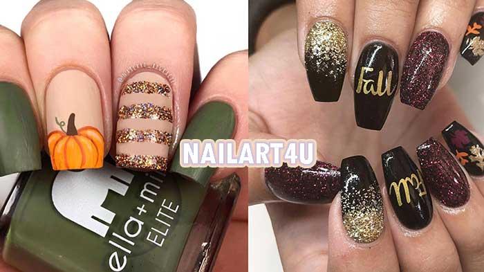 butternut squash nail polish