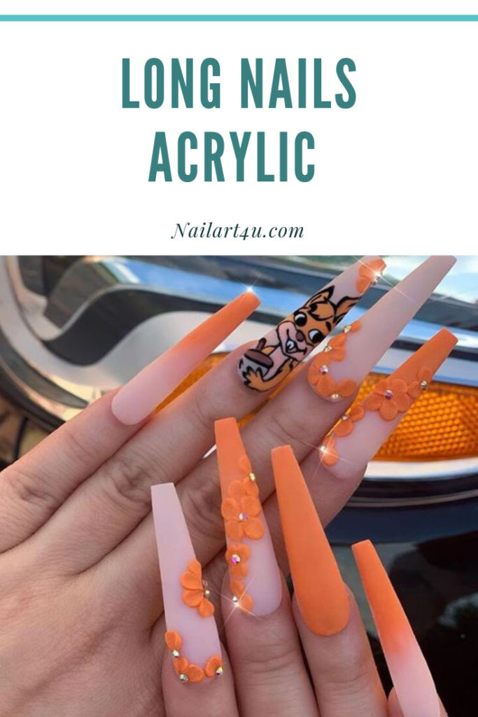 Long Nails Acrylic