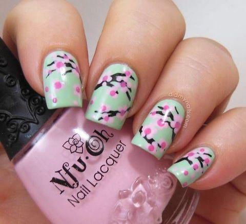 Nail Art Flower