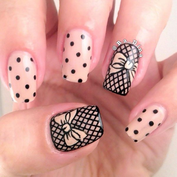 Polka Dot Nails nailart4u