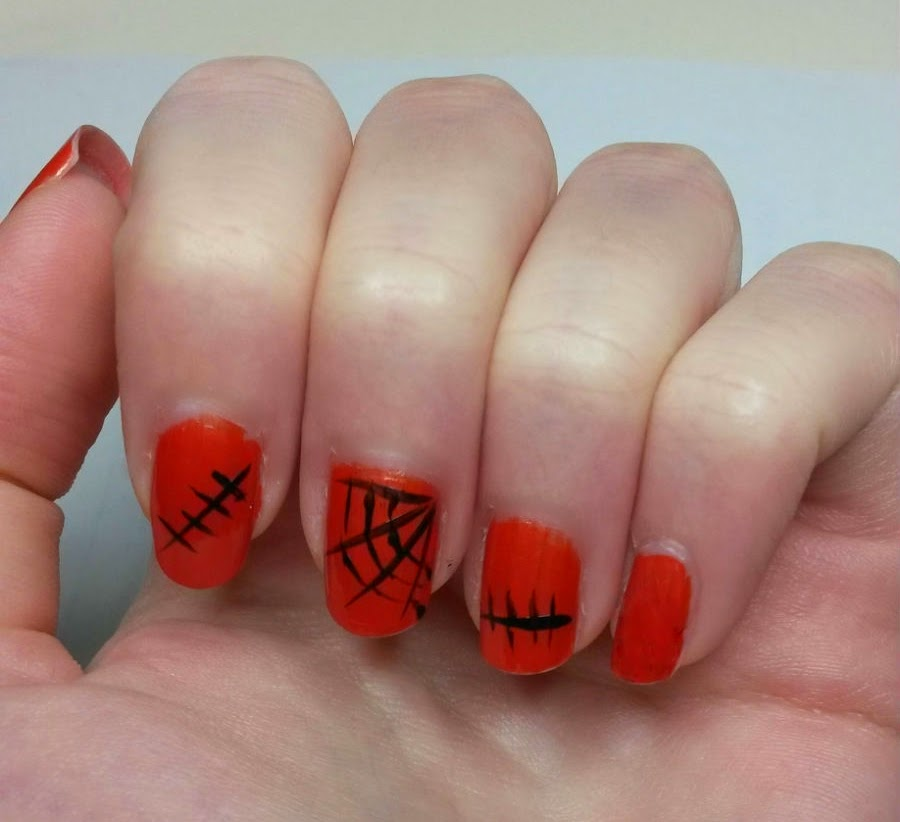 red web nails