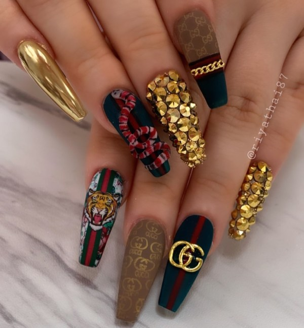 Gold and Black with Awesome Designs