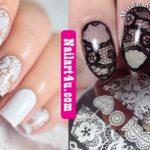 Lace Nail Art nailart4u.com