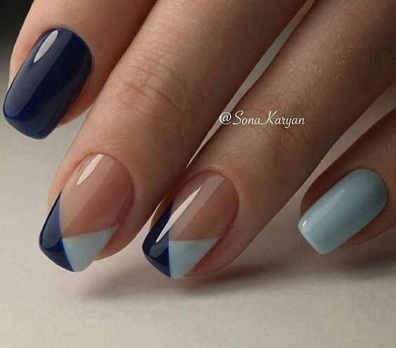 acrylic nails design simple