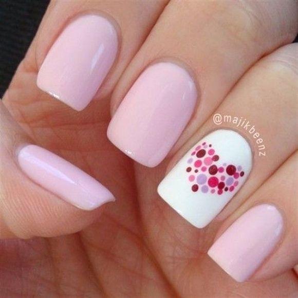 simple short nail