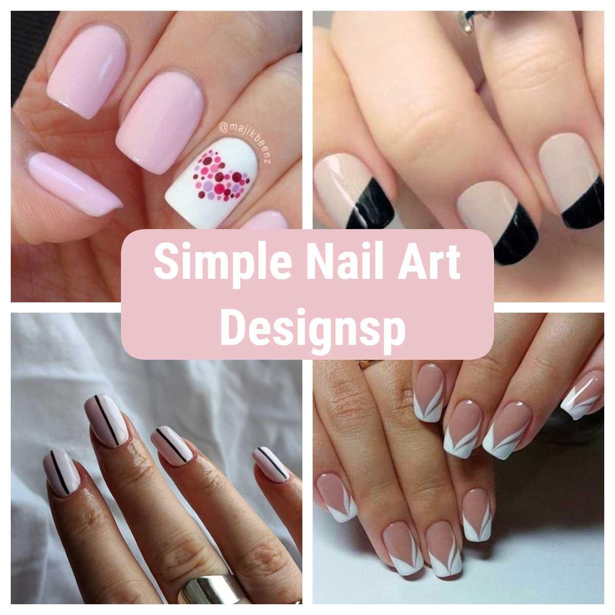 Simple Nail Art Designs Nail Art 4u