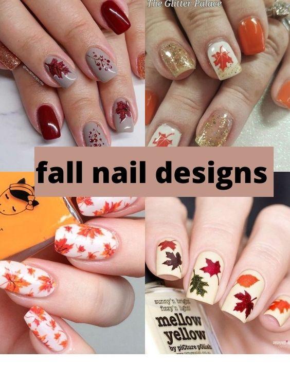 Fall Nail Art Design