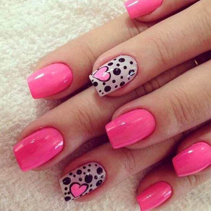 Nails Design for Valentines