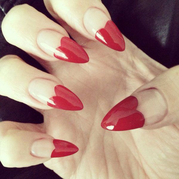 Nails Designs for Valentine's day